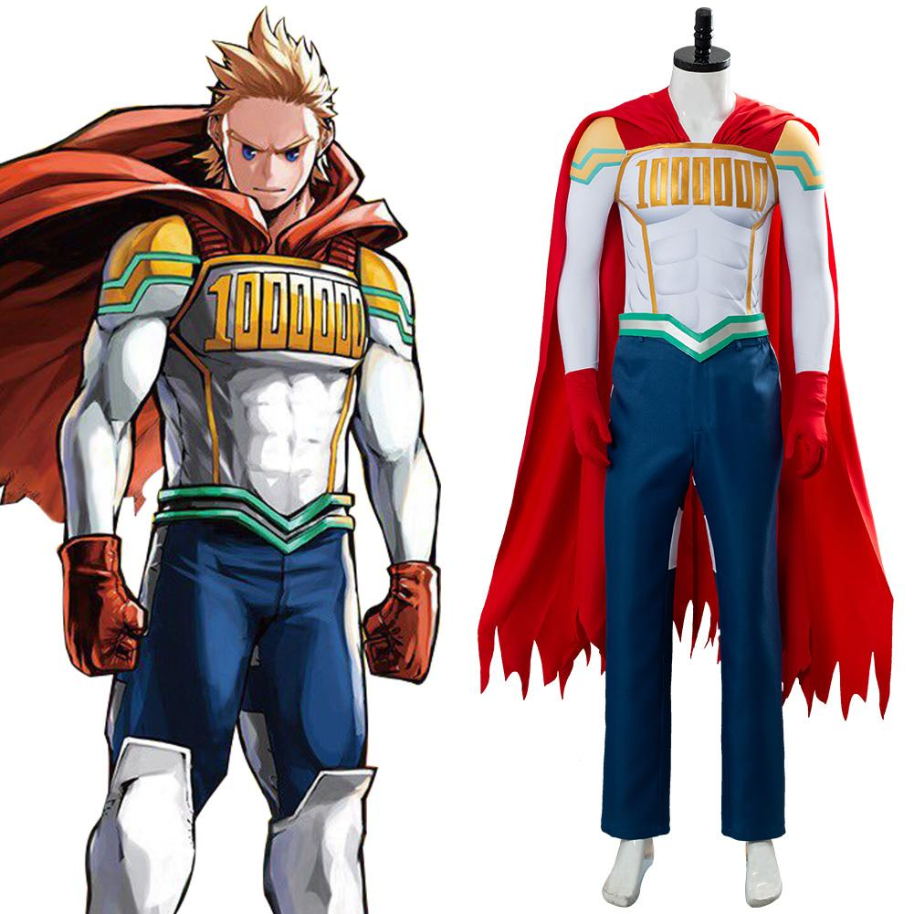 Mirio Togata Lemillion My Hero Academia Boku No Hero Million Cosplay Kostüm Set