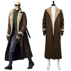 Negative Man Doom Patrol Negative Man DC Superheld Matthew Bomer Mantel Cosplay Kostüm