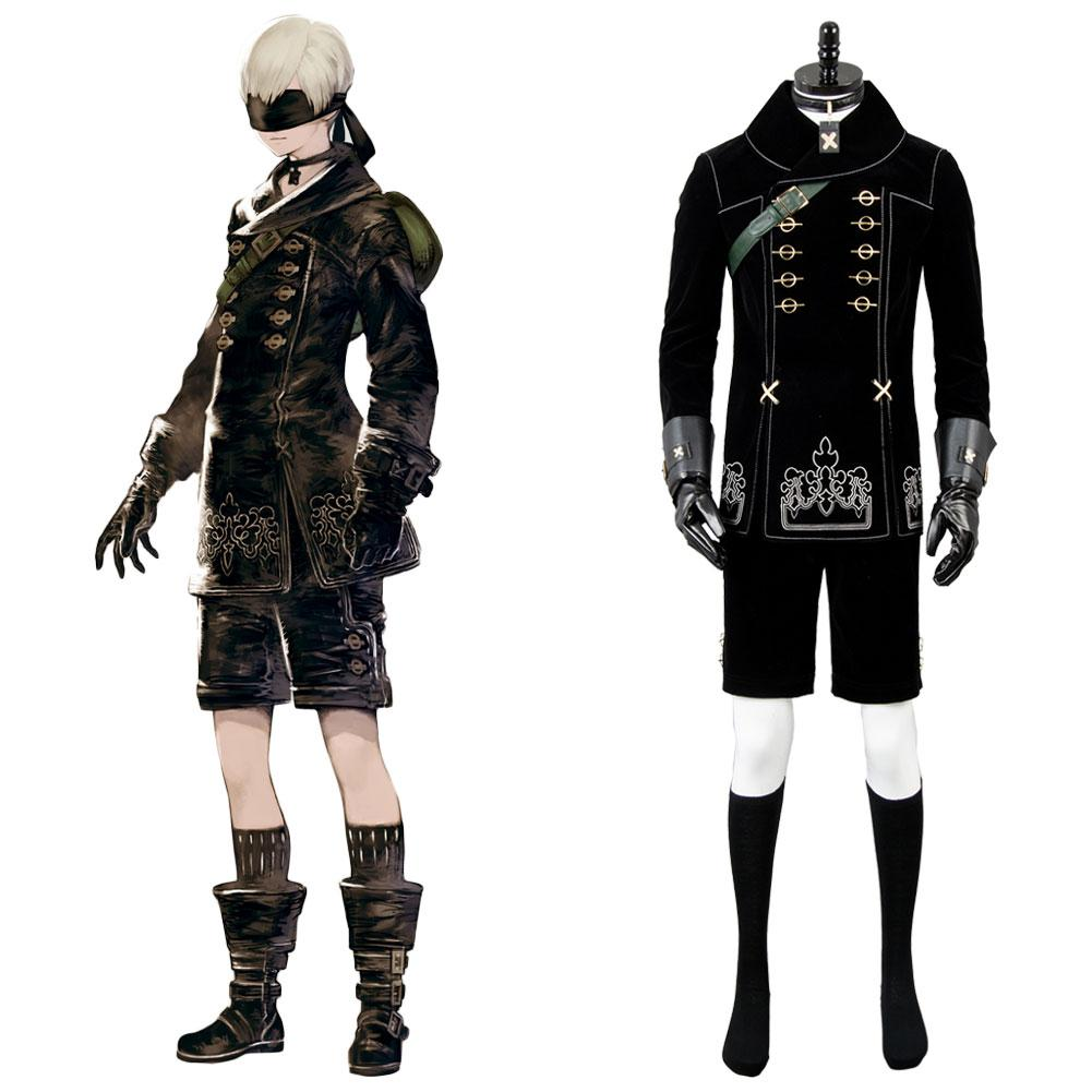 NieR: Automata 9S YoRHa No. 9 Type S Scanner Cosplay Kostüm Uniform