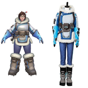 Overwatch OW Mei Full Set Cosplay Kostüm