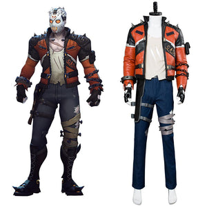 Overwatch Soldier 76 Slasher Skin Haut Cosplay Kostüm NEU