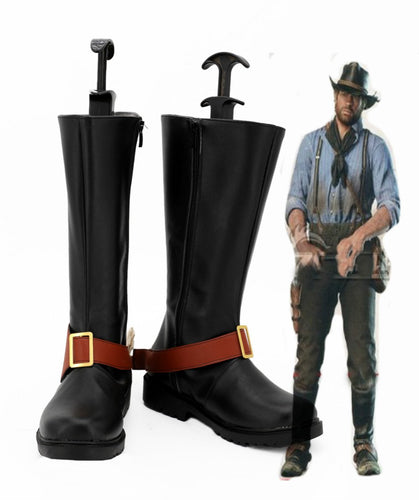 Red Dead Redemption 2 Arthur Morgan Cosplay Schuhe Stiefel