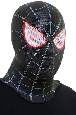 Spider-Man: Into the Spider-Verse Miles Morales Maske Kopfbedeckung Cosplay für Party Karneval