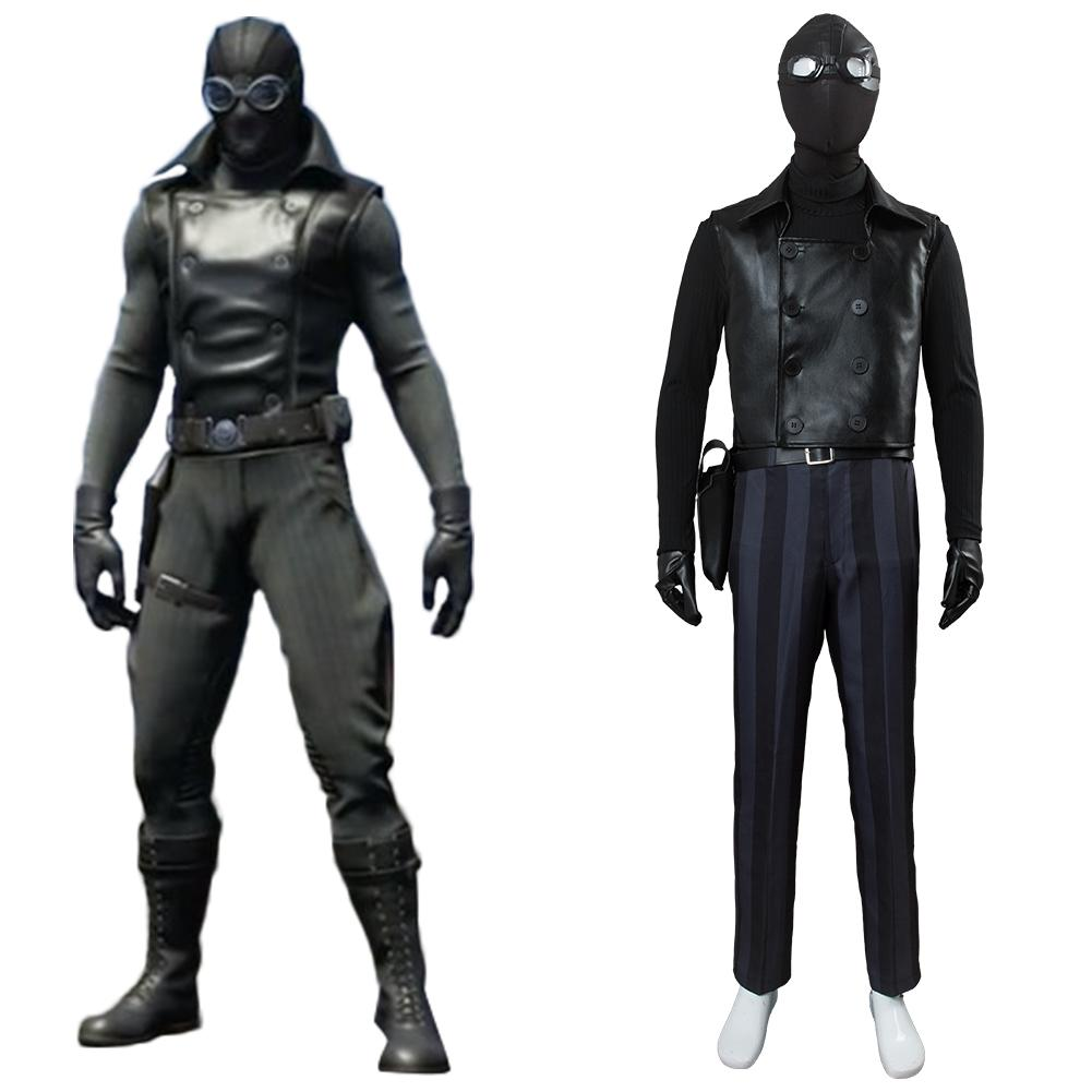 Spider-Man: Into the Spider-Verse Peter Parker / Spider-Man Noir Cosplay Kostüm