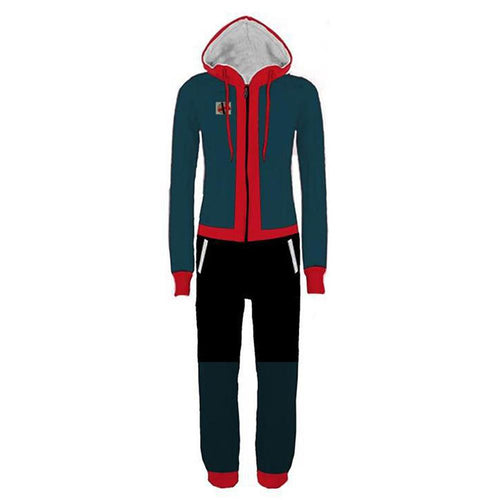 Spider-Man: Into the Spider Verse Spider Man: A New Universe Miles Morales Schlafanzug Pyjamas Cosplay Pullover Baumwolle