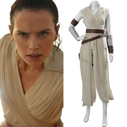 Star Wars 9 The Rise of Skywalker Teaser Der Aufstieg Skywalkers Rey Cosplay Kostüm Version C