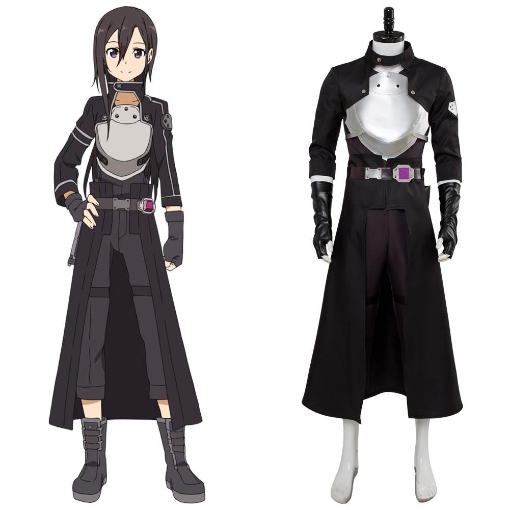 Sword Art OnlineFatal Bullet—kirito Cosplay Kostüm Full Set