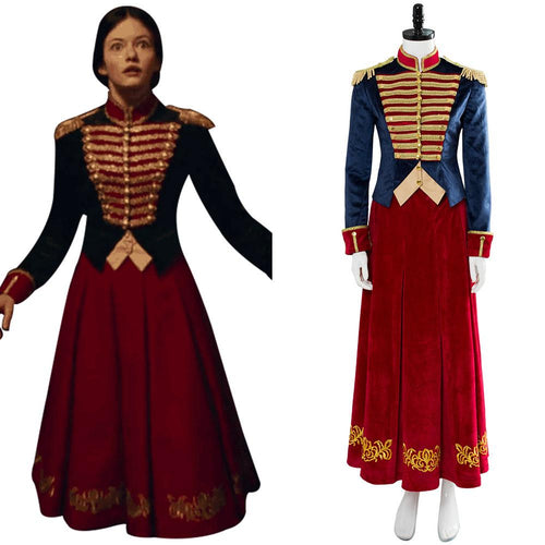The Nutcracker And The Four Realms Der Nussknacker und die vier Reiche Clara Kleid Cosplay Kostüm NEU