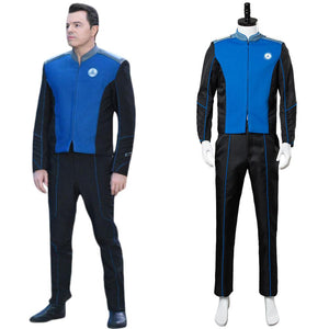 The Orville Captain Ed Mercer Uniform Cosplay Kostüm