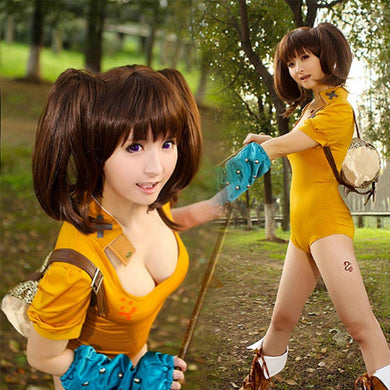 The Seven Deadly Sins Serpent's Sin of Envy Diane Jumpsuit Cosplay Kostüm