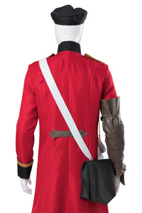 The Thousand Noble Musketeers Brown Bess Uniform Cosplay Kostüm