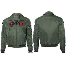 Laden Sie das Bild in den Galerie-Viewer, Top Gun 2 LT Pete 'Maverick' Mitchell Tom Cruise Jacke Pilot Jacke Cosplay Kostüm