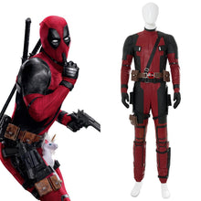 Laden Sie das Bild in den Galerie-Viewer, Deadpool 2 Untitled Deadpool Sequel (2018)  Deadpool Cosplay Kostüm Jumpsuit