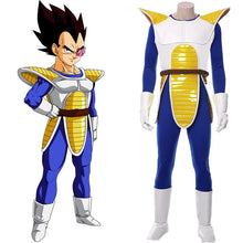 Laden Sie das Bild in den Galerie-Viewer, Vegeta Dragonball Saiyajin SJ Vegeta Dämonenprinz Cosplay Kostüm