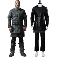 Laden Sie das Bild in den Galerie-Viewer, Vikings Bauer Ragnar Lodbrok Cosplay Kostüm Set NEU