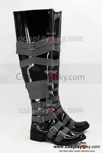 Laden Sie das Bild in den Galerie-Viewer, Black Butler Undertaker Cosplay Stiefel Schuhe