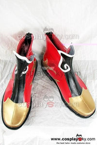 Dynasty Warriors Zhou Yu Cosplay Stiefel Schuhe