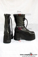 Laden Sie das Bild in den Galerie-Viewer, Fate Stay Night Saber Cosplay Stiefel Schuhe Schwarz