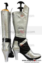 Laden Sie das Bild in den Galerie-Viewer, Fate Stay Night Saber Cosplay Stiefel Silber Schuhe