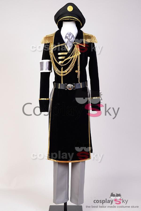 K Return of Kings Yatogami Kuroh Uniform Cosplay Kostüm