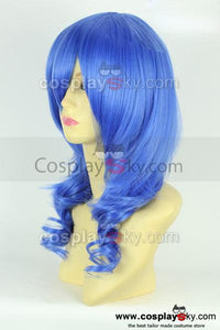 KARNEVAL Kiichi Blue Curly Hair Cosplay Wig