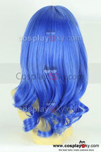 Laden Sie das Bild in den Galerie-Viewer, KARNEVAL Kiichi Blue Curly Hair Cosplay Wig
