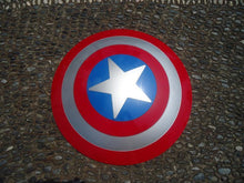 Laden Sie das Bild in den Galerie-Viewer, Captain America Avengers Waffe Armierung Flying Shield Cosplay Shild Requisiten