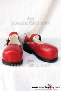 The Adventures of Pinocchio Rot Cosplay Schuhe