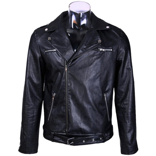 The Walking Dead Negan Jacke Kunstleder-Jacke Cosplay Kostüm