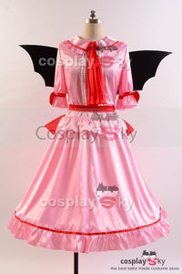 Touhou Project the Embodiment of Scarlet Devil  Remilia Schlacher Kleid Cosplay Kostuem