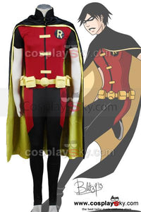Young Justice Robin Cosplay Costume Custom Made