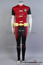 Laden Sie das Bild in den Galerie-Viewer, Young Justice Robin Cosplay Costume Custom Made