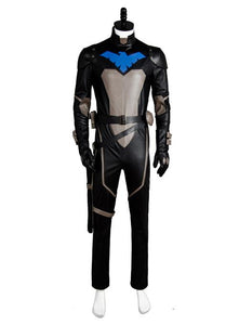 Young Justice S2 Nightwing Uniform Jumpsuit Cosplay Kostüm