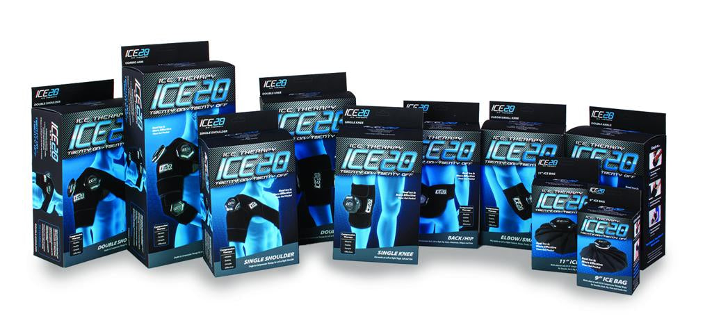 Full Line of ICE20 Ice Wraps