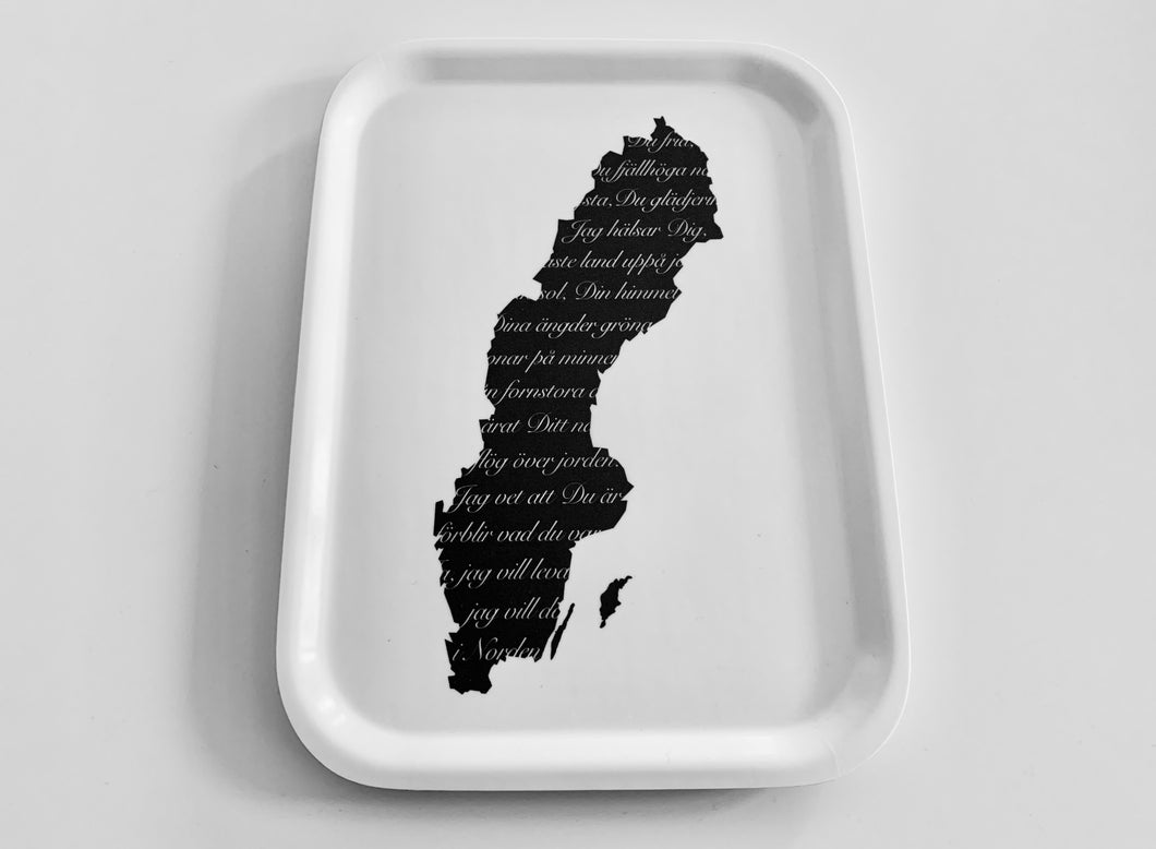 Sweden Map Anthem, Fika Tray