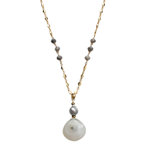 ARYA SOLAR QUARTZ NECKLACE