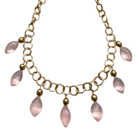 EMMA ROSE QUARTZ NECKLACE