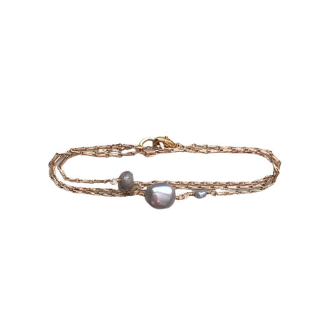 CALLIE TRIPLE WRAP BRACELET