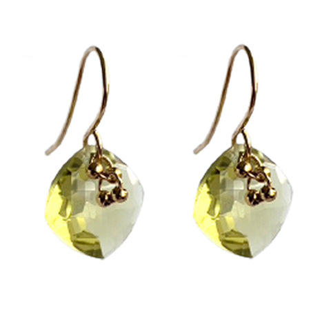 ETTA LEMON CITRINE EARRINGS