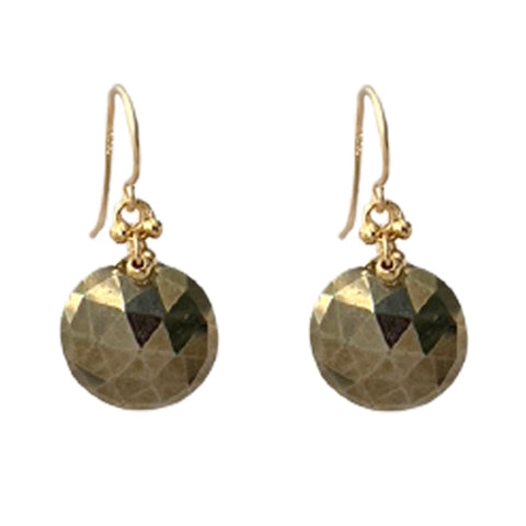 LOLA PYRITE EARRINGS
