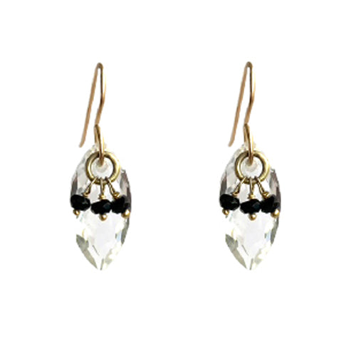 WYLIE ROCK CRYSTAL EARRINGS
