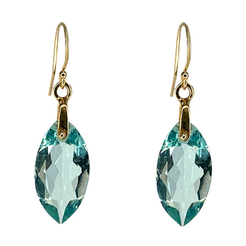 COLE APATITE QUARTZ EARRINGS