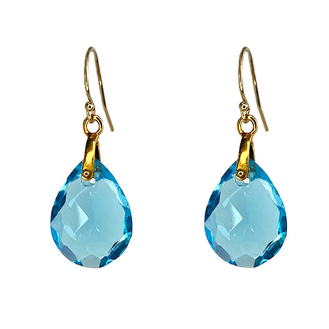 ISOLA BLUE QUARTZ EARRINGS