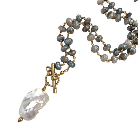 MADISON BAROQUE PEARL NECKLACE