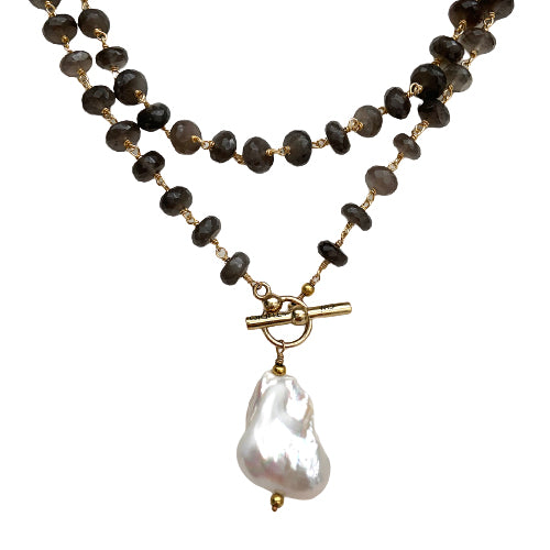 RYAN BAROQUE PEARL NECKLACE