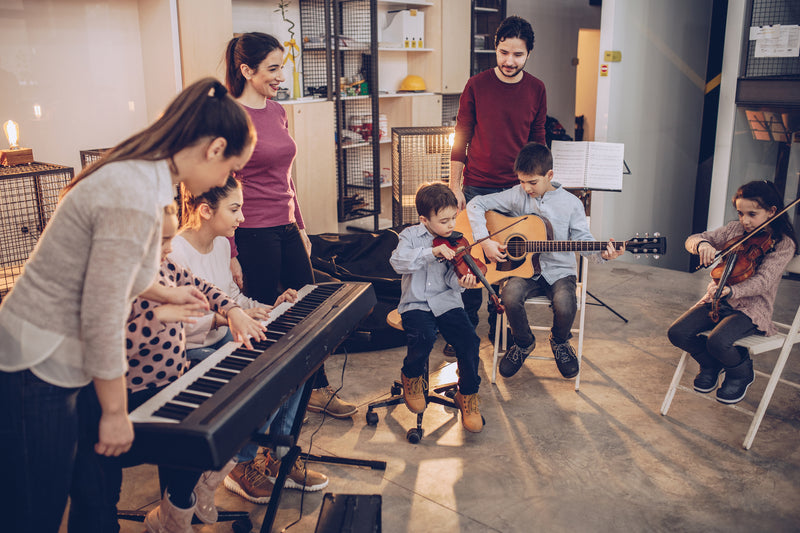 5 Reasons Why Your Child Should Learn An Instrument