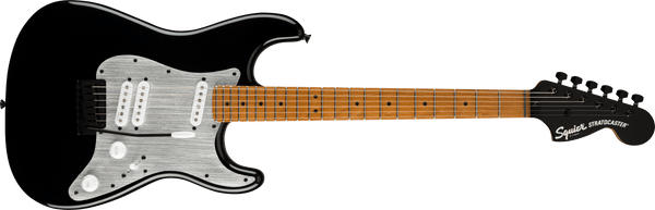 Squier Contemporary Special Strat Black with Silver Pickguard