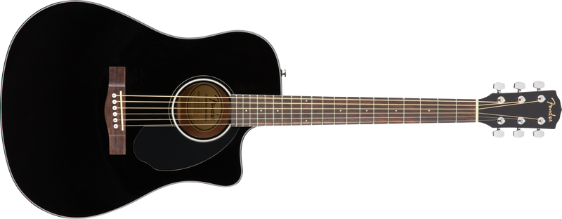 Fender CD-60SCE Acoustic Electric Guitar. Black
