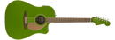 Fender California Series Redondo Player Acoustic Guitar. Jade Green