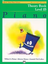 Alfred's Basic Piano Course: Theory Book 1B